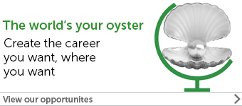 The world's your oyster