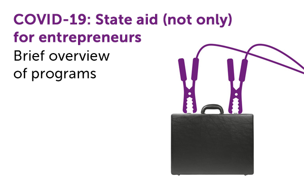 Covid-19: State aid (not only) for entrepreneurs