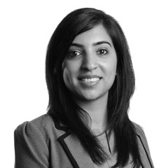 Natasha Bhardwaj, Associate
