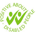 Two Ticks Disability Symbol accreditation
