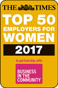 The Times Top 50 Employers for Women