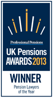 UK Pensions Awards 2013