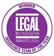 Legal Business Awards 2016 - Insurance team of the year