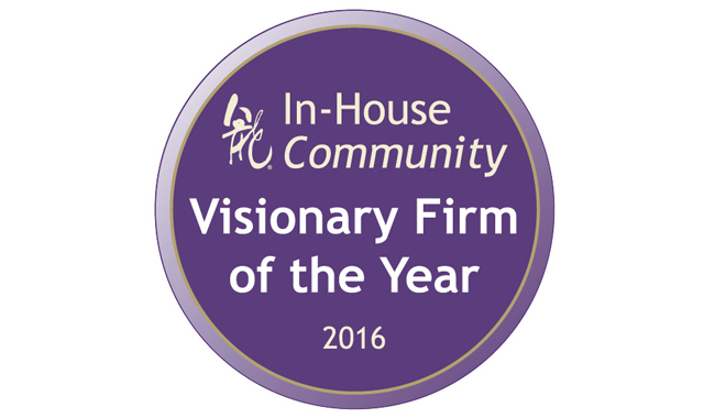 Eversheds crowned 'Visionary Firm of the Year'