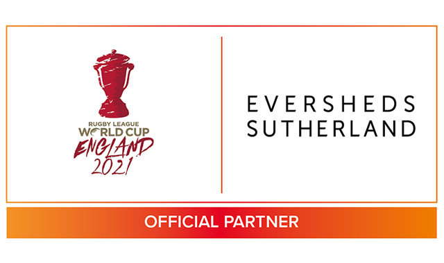 Eversheds Sutherland is first official partner of Rugby League World Cup 2021