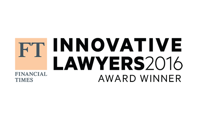 Eversheds scoops prestigious FT Innovative Lawyers Award
