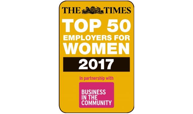 Times Top 50 Employers for Women 2017