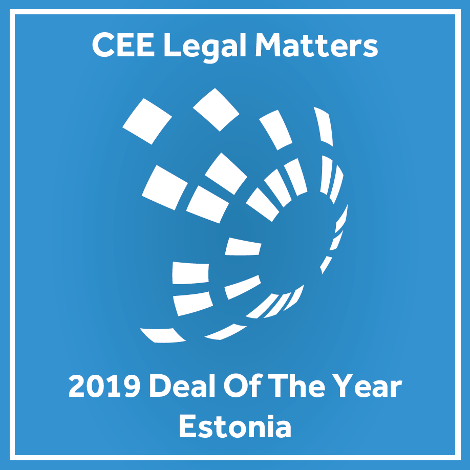 CEE Legal Matters Deal of the year 2019