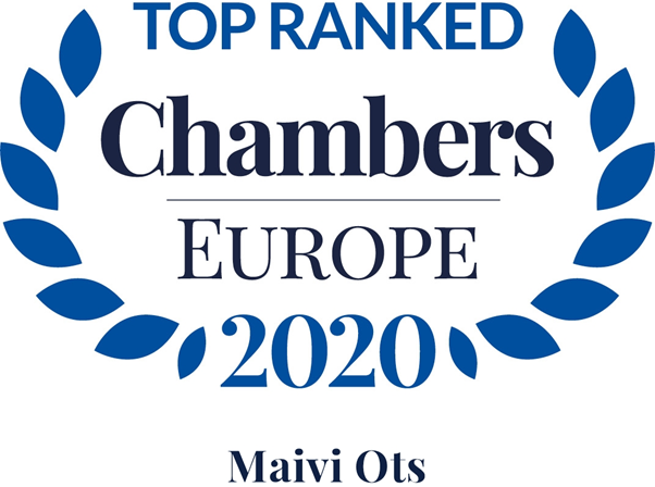 Top Ranked in Chambers Europe 2020