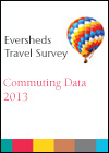 Eversheds travel survey 2013 - Comuting data