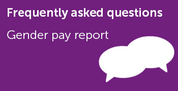 FAQs - Gender pay report