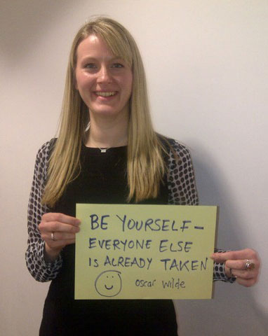 "Amy Pownall Associate Eversheds - Part of The Guardians ""Be Yourself at Work"" Campaign"