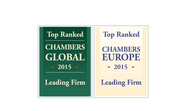 Chambers & Partners Rankings for Eversheds Austria