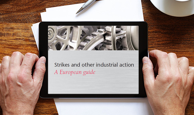 Strikes and other industrial action