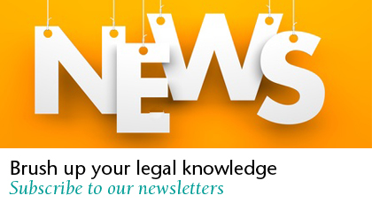 News - Brush up your legal knowledge