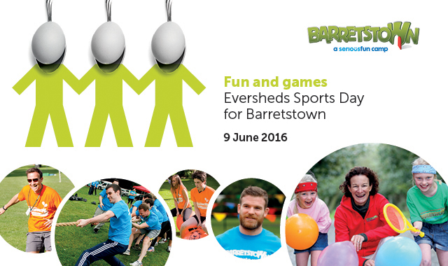 Eversheds Sports Day for Barretstown
