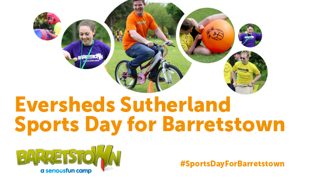 Eversheds Sutherland Sports Day for Barretstown