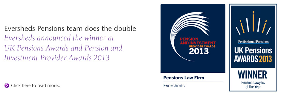 Pensions Lawyer of the Year Awards 2013