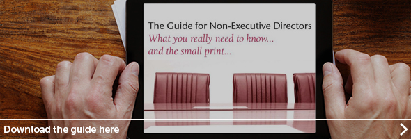 Non-executive directors guide - download a copy of the report.