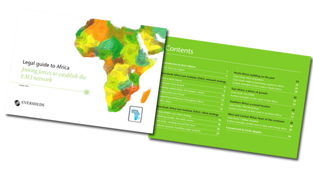 The Eversheds Africa Law Institute (EALI) Annual Report 2014