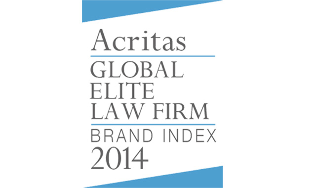 Acritas names Eversheds as a global Elite Law Firm.