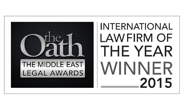 The Oath International Law Firm of the Year 2015