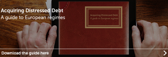 Acquiring distressed debt guide