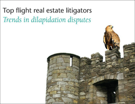 Real estate litigators. Trends in dilapidation disputes