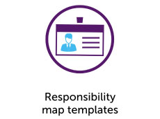 Responsibility map templates