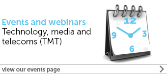 TMT events and webinar