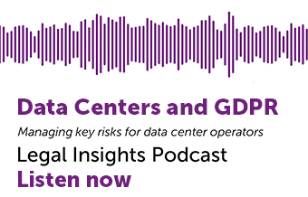 Data Centers and GDPR Podcast
