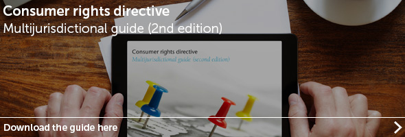 onsumer rights directive - Multijurisdictional guide