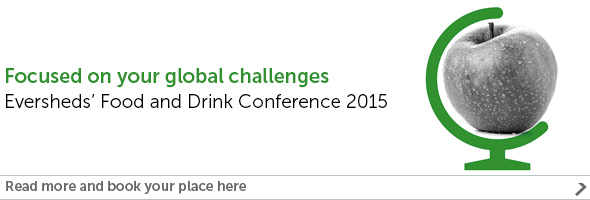 Food and Drink Annual Conference 2015