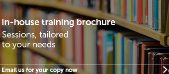 Evrsheds Education - In-house training brochure