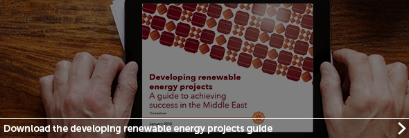 Devleoping Renewable energy MENA