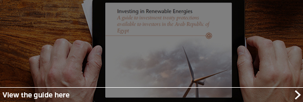 Investing in Renewable Energies in the Arab Republic of Egypt