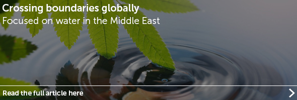 Focused on Water in the Middle East