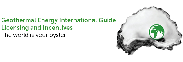 Geothermal Energy International Guide - Licensing and Incentives