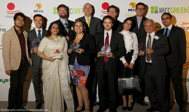 Double award win at Middle East Solar awards