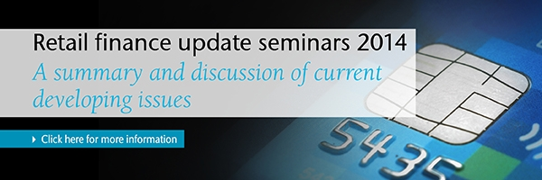 Retail finance seminars - click here for more info
