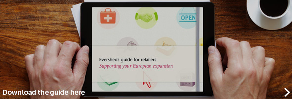 Eversheds guide to retail - click here to read...