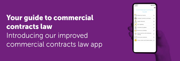 Commercial Contracts app banner