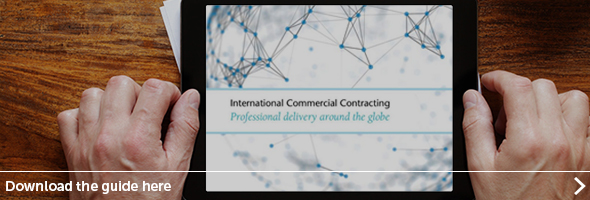 International commercial contracts guide - Click here to register for your copy.