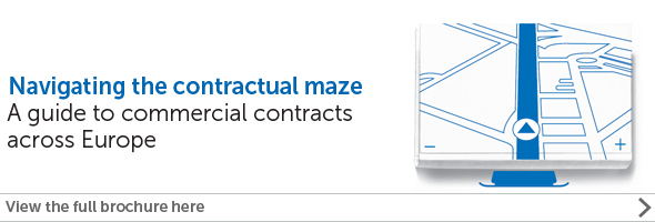 Commercial contracts across Europe