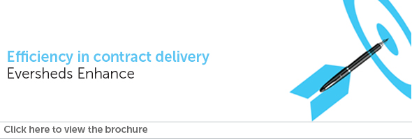 Efficiency in contract delivery - Eversheds Enhance
