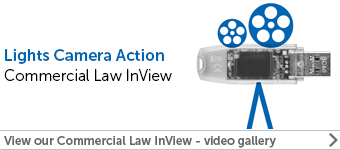 Commercial law InView - watch our videos here