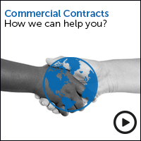 Commercial Contracts how we can help you - view the video
