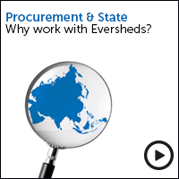 Procurement, why work with Eversheds - view the video