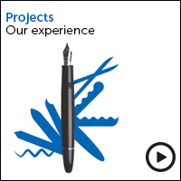 Projects our experience view the video