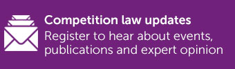 Competition Law Update